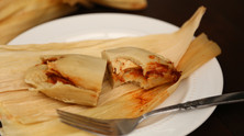 Low-fat tamales (plant-based, no-oil)