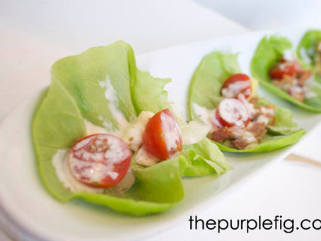 Recipe Card: Lettuce Wraps With Buttermilk Ranch