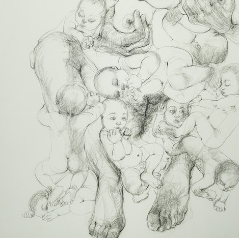 Untitled [Hillmother series], 1981-83