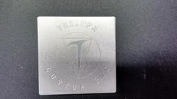 Engraving on Aluminum