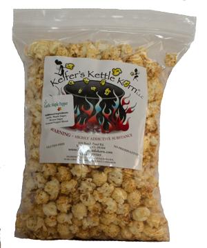 Garlic Maple Pepper Kettle Corn