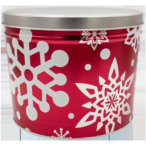 Let It Snow 2 Gallon Tin