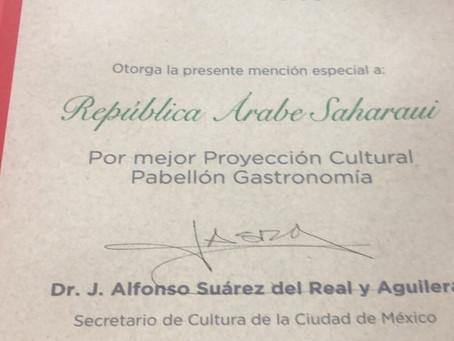 La Embajada Saharaui en México se hizo merecedora a dos menciones especiales en la FICA