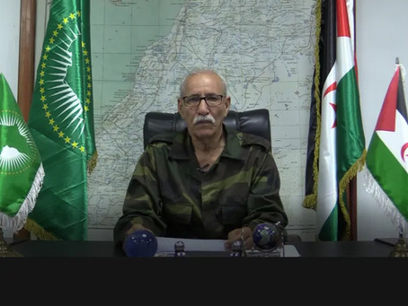 El presidente de la República elogia el papel histórico de África en apoyar al pueblo saharaui