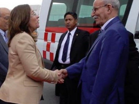 Finaliza la visita del Presidente Saharaui a México