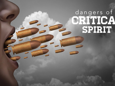 What Are the Causes of a Critical Spirit?— PART 2