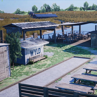 Wyld Dock and Bar (UE4)