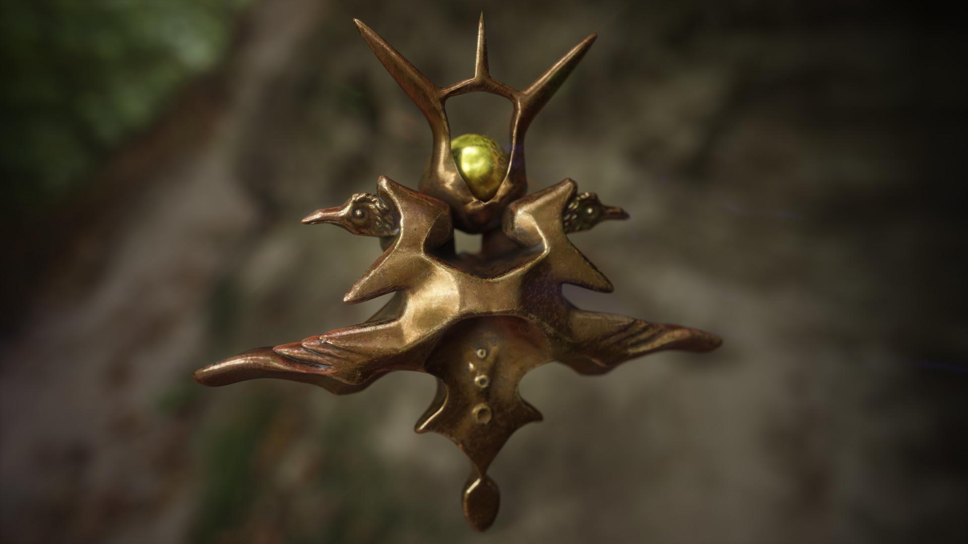Ancient Pendant Relic