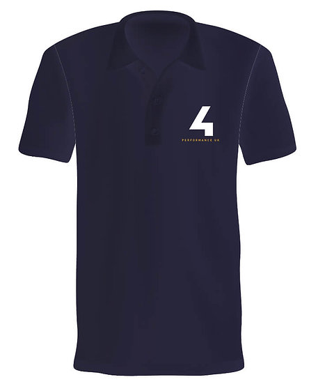 4 Performance Polycotton Polo T-shirt