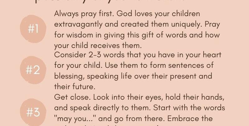 Blessing Guide