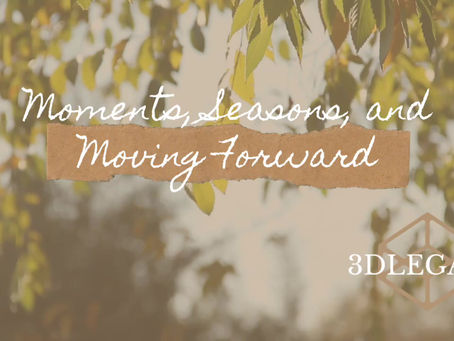 Moments, Seasons, and Moving Forward