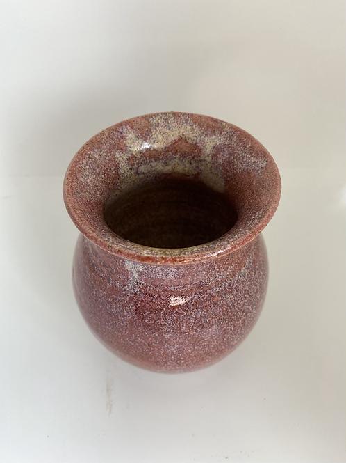 Vase i natur-rosa