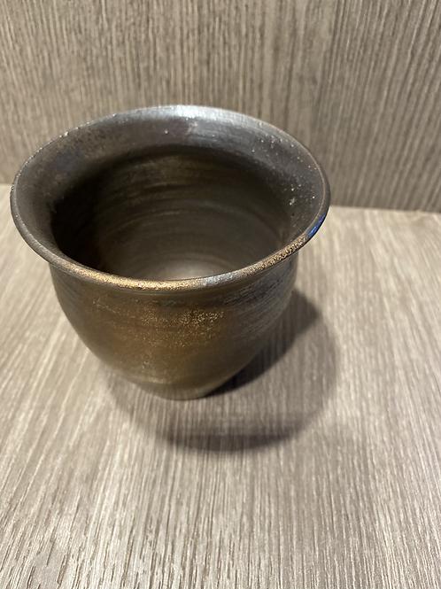 Guld Urtepotte/vase