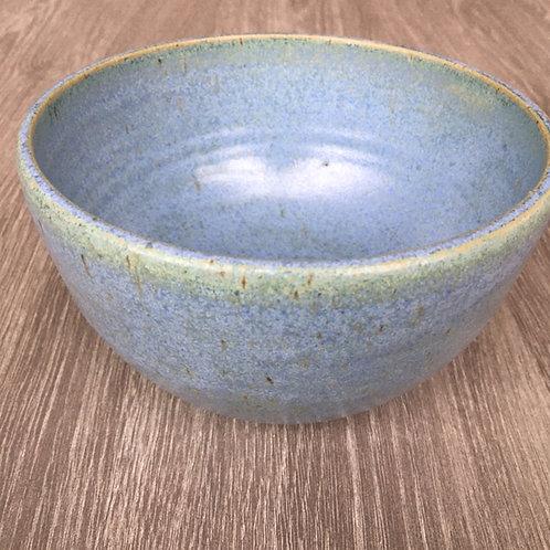 Blågrøn keramikskål
