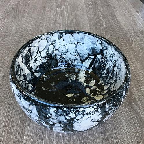 Smuk skål med sæbebobel-effekt