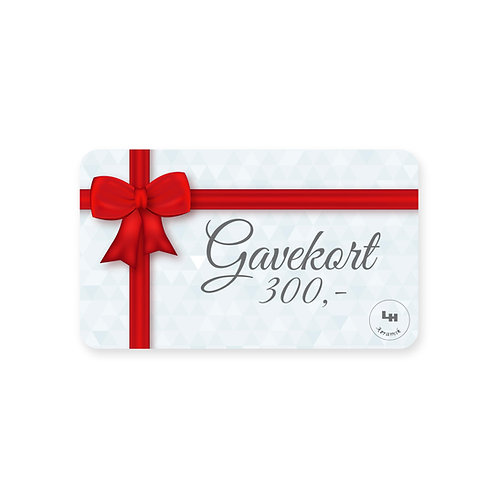 Gavekort - 300 kr