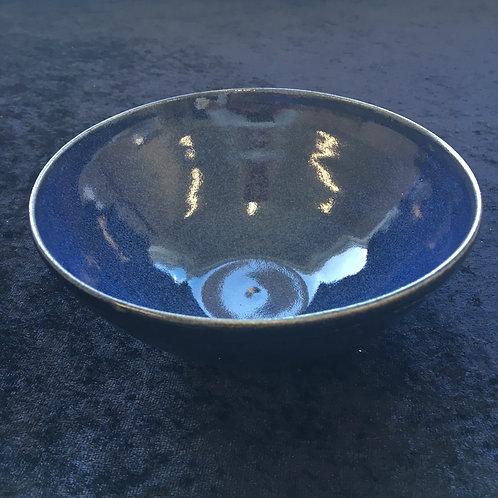 Midnatsblå skål