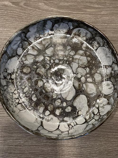 Fad med bronze sæbebobler