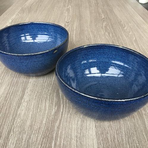 Midnatsblå skåle