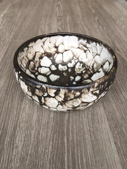 Skål med sæbebobel-effekt i bronze