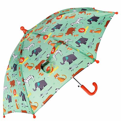 Animal Park Printed Umbrella