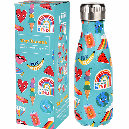 Top Banana 'it's cool to be kind' insulated bottle