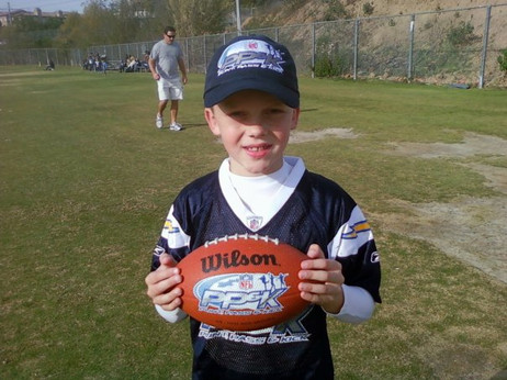 NFL Punt Pass Kick Chargers Finals, 8 Years old