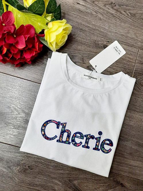 Tee-shirt Chérie