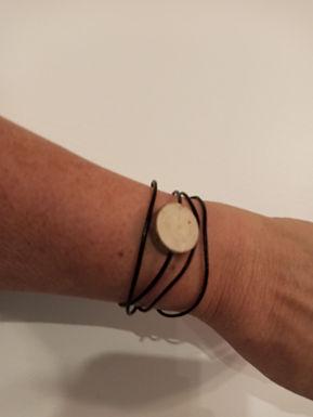 Bijoux cuir/bois