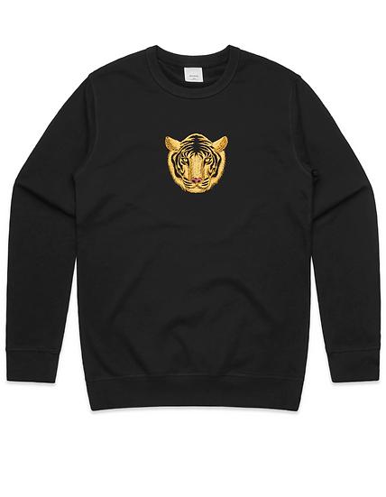 Crew Neck- Tiger