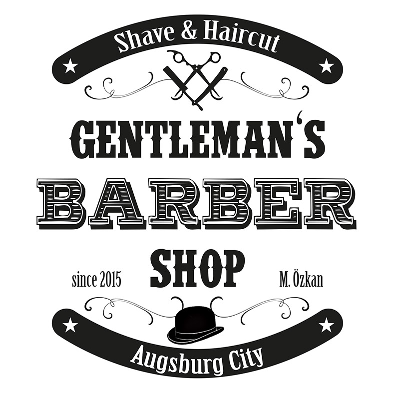 Logo - Barber Shop