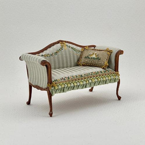 Handpainted sofa