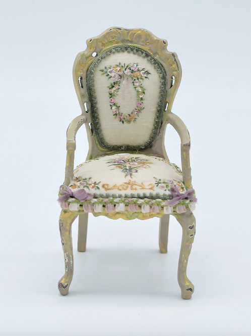 Unique Dollhouse Furniture - Miniature chair