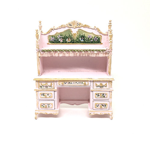 Dollhouse Furniture - Hand painted fairy table. Scale 1:12