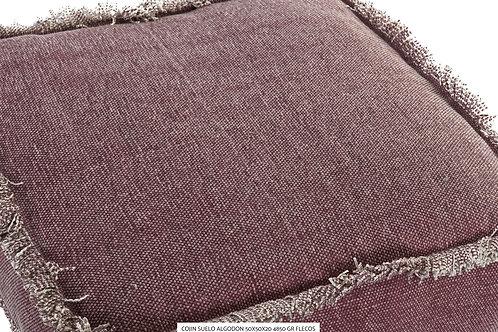 Cojin de suelo algodón