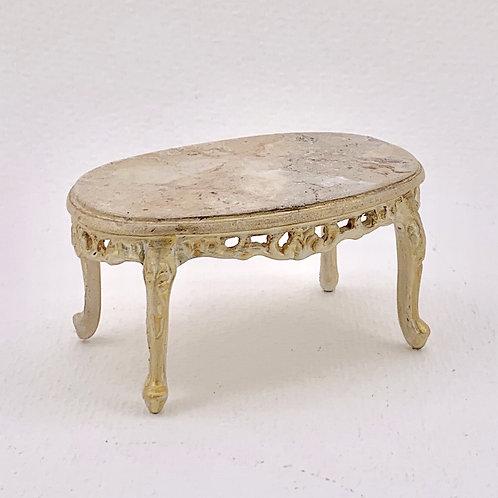 Coffe table handpainted imitation marble