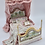 Thumbnail: Unique Dollhouse Furniture - Hand painted bed with canopy
