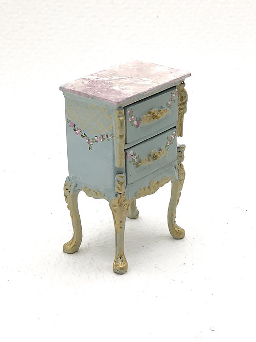 handpainted night table