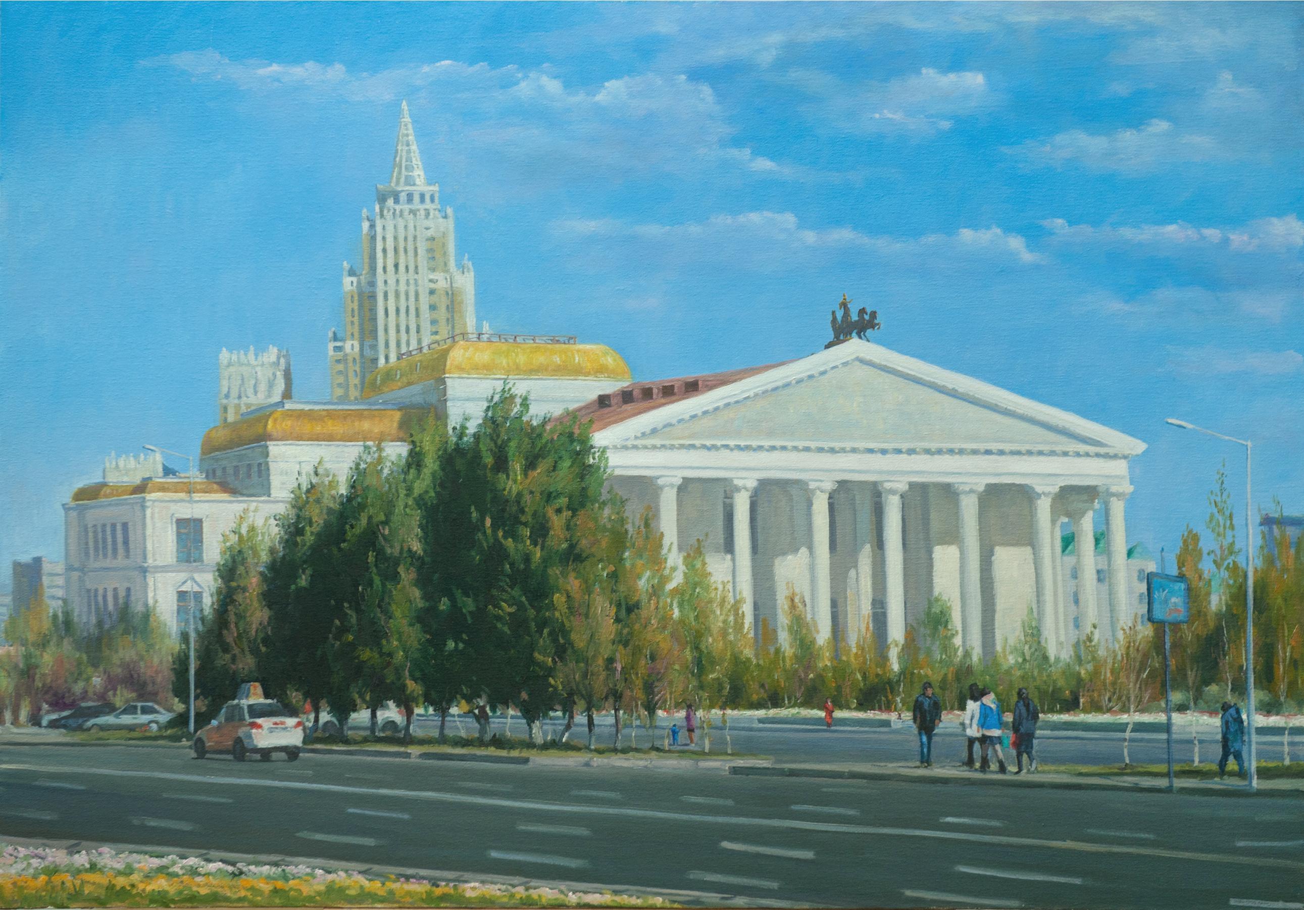 """Театр оперы и балета"" Х.М. 90х120"