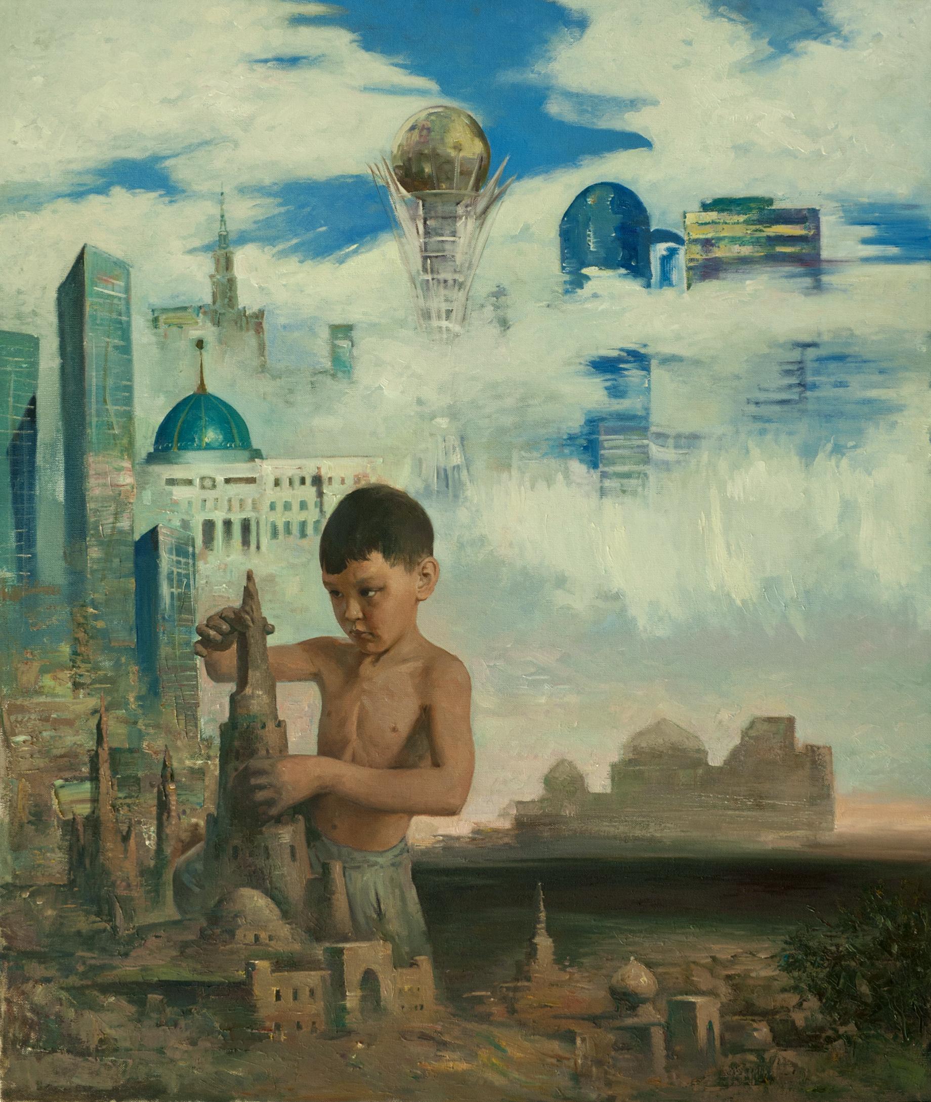 """Юный архитектор"" Х.М. 120х140"