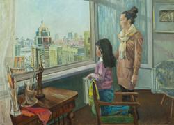 """""""Вид из окна"""" Х.М. 90х120"""