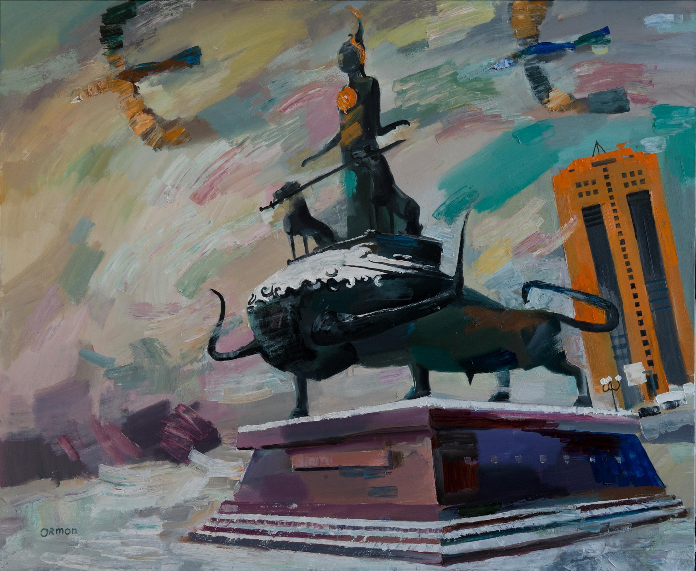 """""""Монумент"""" Х.М. 100х120"""