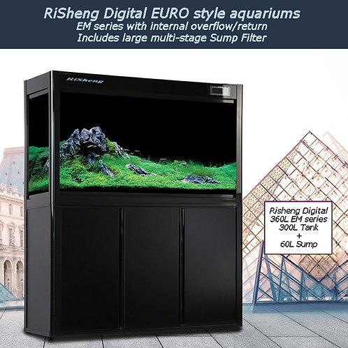 1.5m Digital display Ultraclear aquarium system