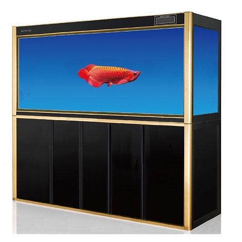 1.8m Digital display Ultraclear 540L aquarium system