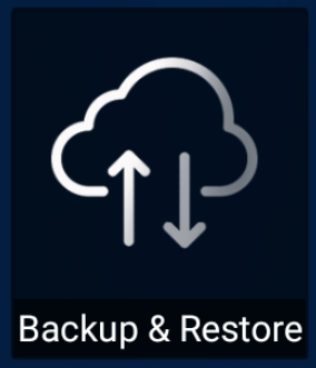 Backup Restore Feature