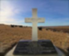 PFC Gordon's grave