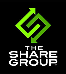 The Share Group Logo Vertical 3 Colors f