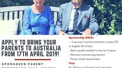 Temporary Sponsored Parent Visa 870