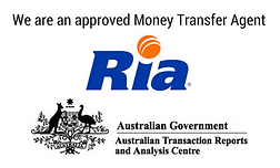 We are an approved Money Transfer Agent