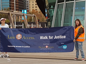 Events - Inaugural Walk for Justice 2016